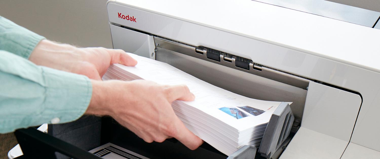 Für fehlerfreie Leistung setzt ein globaler BPO-Anbieter auf Kodak Alaris