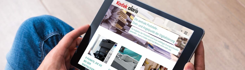 Posteingang automatisieren und digitalisieren mit Kodak Alaris