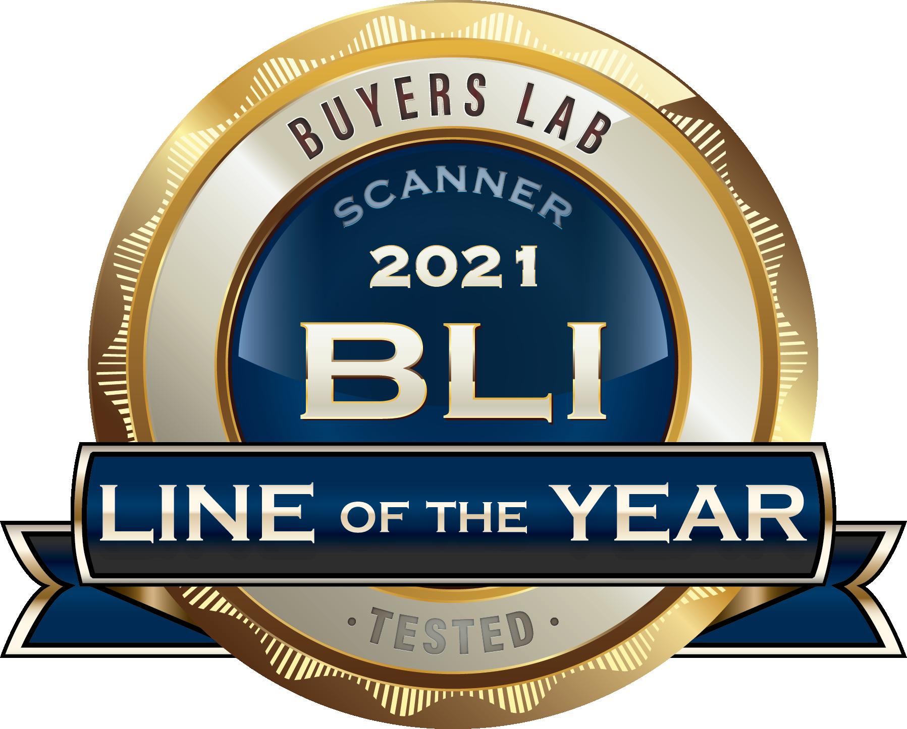 Kodak Alaris - Buyers Lab: Scanner Line of the Year Award