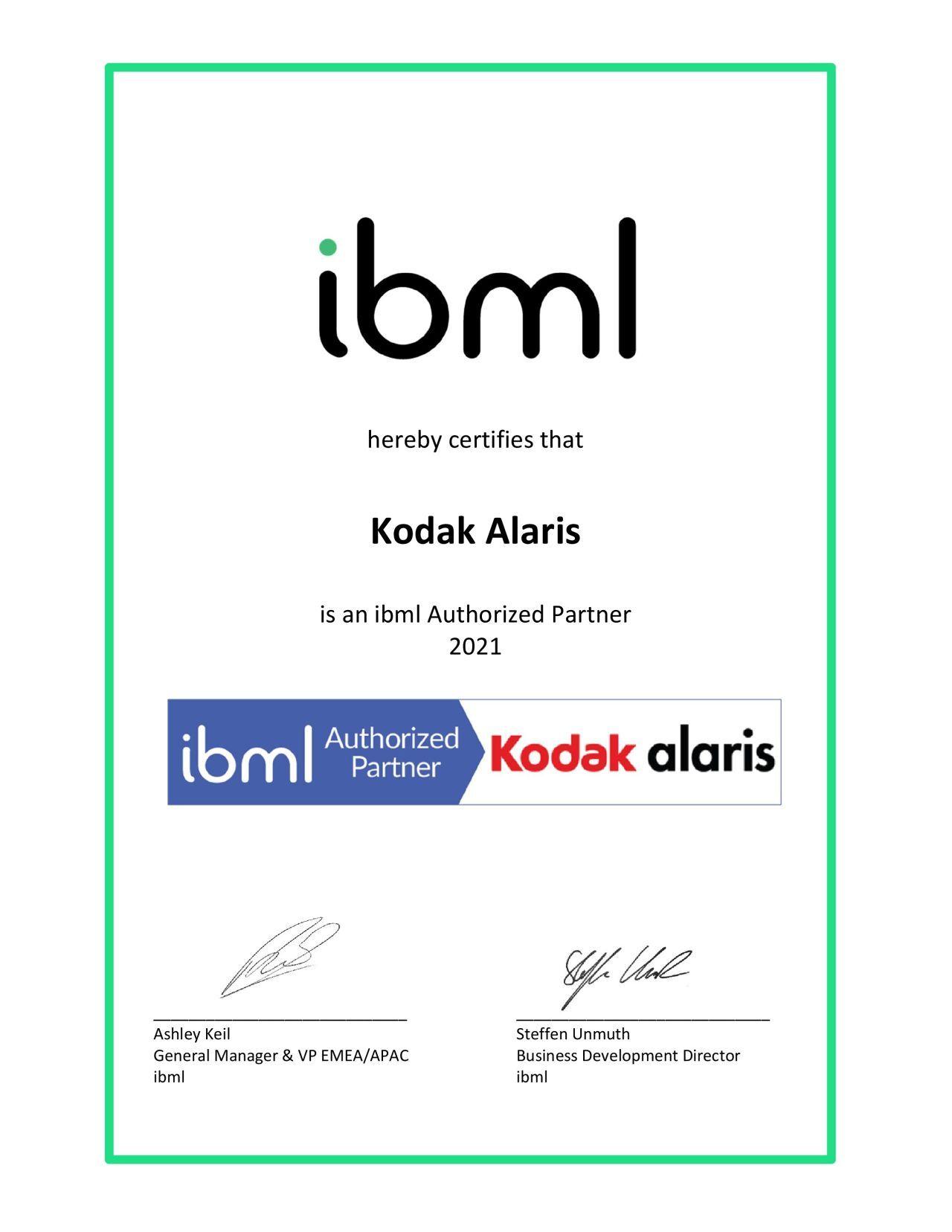 Der Zensus 2022 in Bayern wird digital - Kodak Alaris ibml Partner